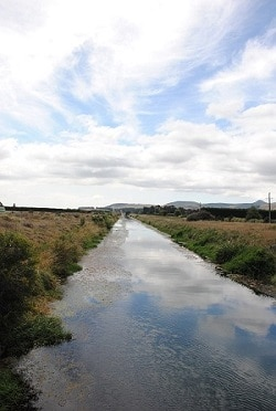 Halswell Canal.